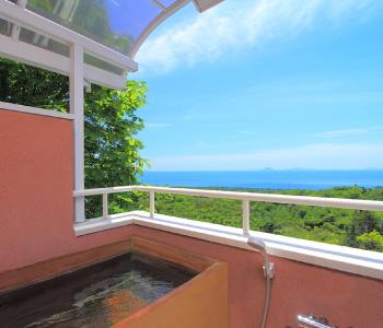 全室絶景を望む専用温泉露天風呂付き