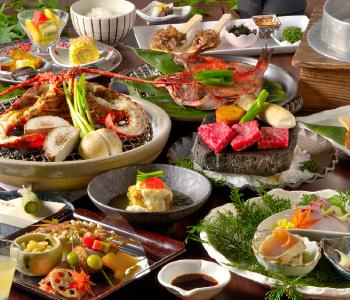 伊豆三大美味を堪能できる創作和会席