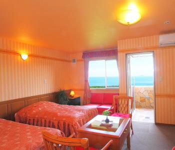 全7室の南仏風 お洒落な客室
